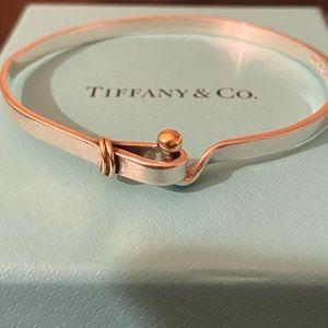 Tiffany & Co. Hook and Eye Bangle Bracelet